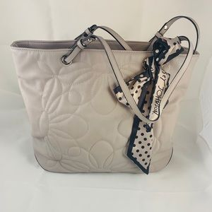Quilted Betsey Johnson Tote